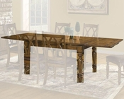 Intercon Solid Oak Dining Table Monastery INMY42100RTAB
