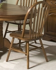 Intercon Solid Oak Plain Arrow Back Side Chair INCO253SH (Set of 2)