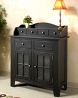 Intercon Solid Oak Server Rustic Traditions INRT4248TB