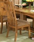 Intercon Solid Oak Side Chair Highland Park INHPN460 (Set of 2)