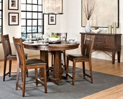 Intercon Solid Pine Counter Height Dining Set INHY5454GSET