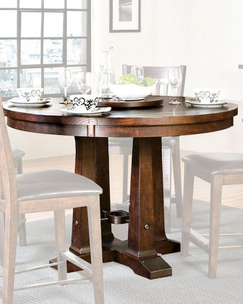 Intercon Solid Pine Counter Height Dining Table Hayden ...