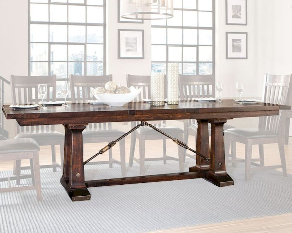 Solid Pine Dining Table Hayden INHY42100TAB