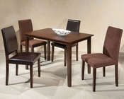Intercon Solid Rubberwood Dining Set The Loft INLFX3048SET