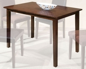 Intercon Solid Rubberwood Dining Table The Loft INLFX3048TAB
