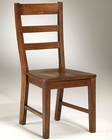 Intercon Solid Rubberwood Side Chair Scottsdale INSCCH185 (Set of 2)