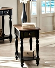 Intercon Solid Wood Chair Side Table Gramercy Park INGPTA2416