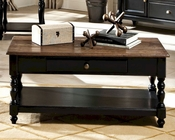 Intercon Solid Wood Coffee Table Gramercy Park INGPTA4824TAB