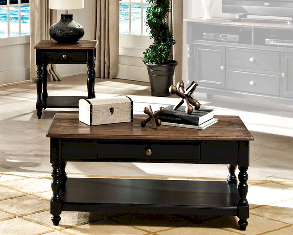 Intercon Solid Wood Coffee Table Set Gramercy Park
