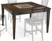 Intercon Solid Wood Counter Height Dining Table Kashi INKI5454GTAB