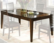 Intercon Solid Wood Dining Table Kashi INKI4278TAB