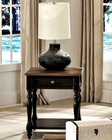 Intercon Solid Wood End Table Gramercy Park INGPTA2424