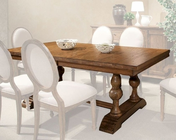 Intercon Trestle Dining Table La Rive INLRTABAL - Trestle dining room table