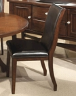 Intercon Upholstered Side Chair Calais IN-CS-CH-380L-CHY (Set of 2)