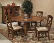 Intercon Verona Solid Birch Dining Set INVC4646SET
