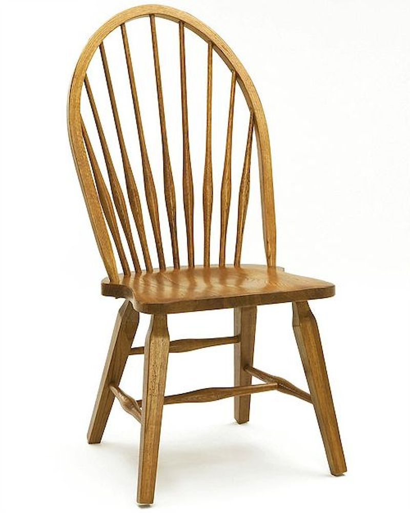 Intercon Windsor Side Chair Rustic Traditions INRTCH1608