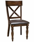 Intercon X-Back Side Chair Kingston INKGCH735C (Set of 2)