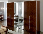 Italian 4 Door Wardrobe Matrix Contemporary Style 33161MT