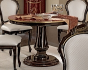 Classic Style Round Dining Table Made in Italy 33D495