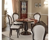 Classic Style Dining Set w/ Round Table Made in Italy 33D494