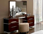 Italian Dresser and Mirror Matrix Contemporary Style 33190MT