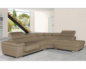 Italian Leather Sectional Set Pacifico ESFPC