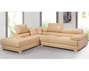 Italian Leather Sectional Sofa Set 33LS81