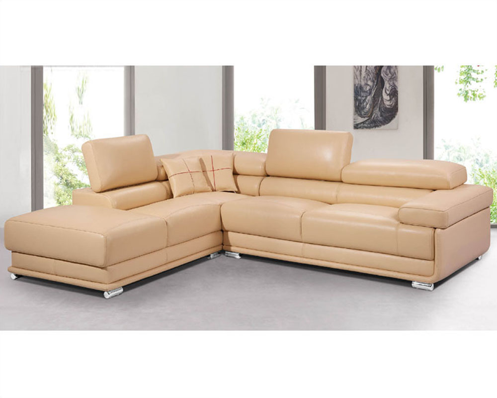 Italian leather sectional sofa set 33ls81 for Sectional sofa set up
