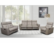 Italian Leather Sofa Set in Modern Style ESF8501SET