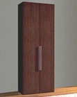 Italian Modern 2 Door Wardrobe in Brown Finish 33B228
