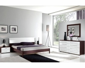 Italian Modern Two Tone Bedroom Set 33B221