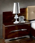 Italian Night Stand Matrix Contemporary Style 33170MT