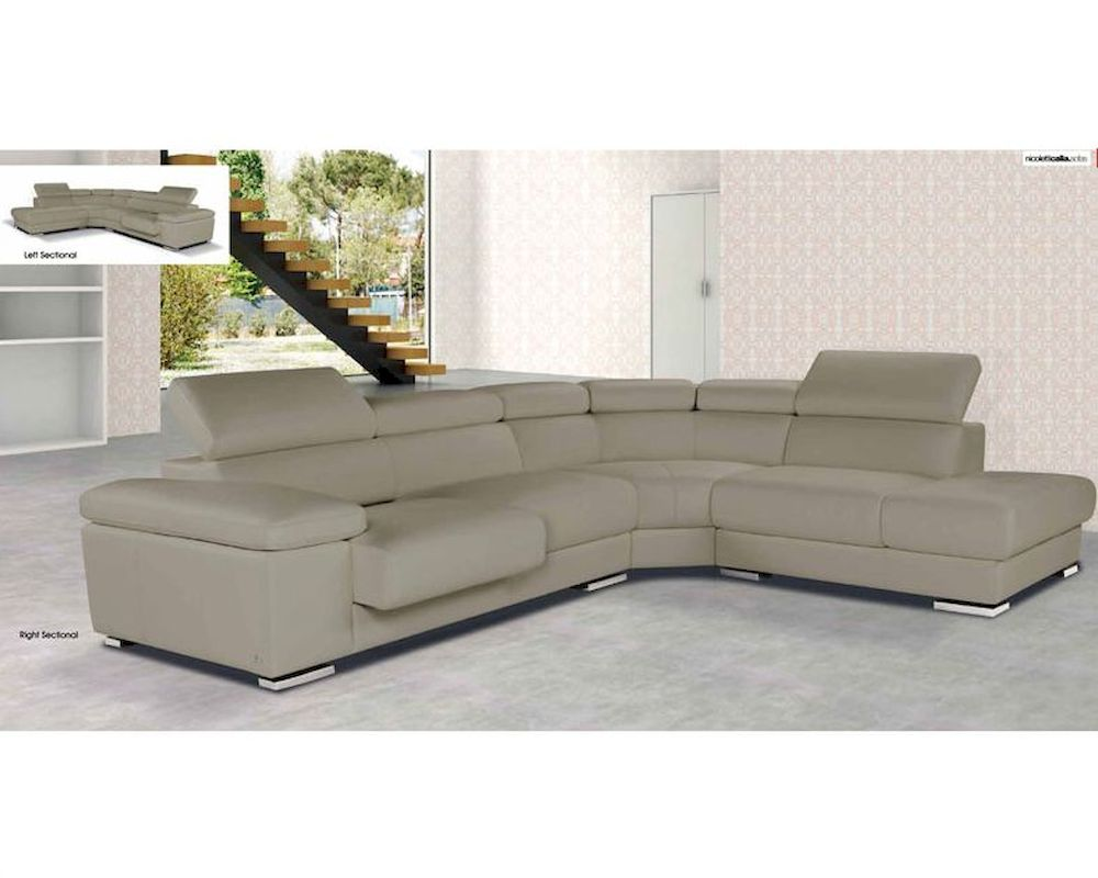 Italian Style Sectional Sofa 33LS251
