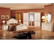Italian Traditional Complete Bedroom Set 44B005SET