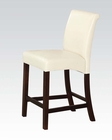 Ivory Counter Height Chair Ripley by Acme AC71375 (Set of 2)