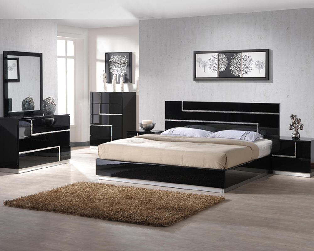 J M Bedroom Set Lucca Jm Sku17685set
