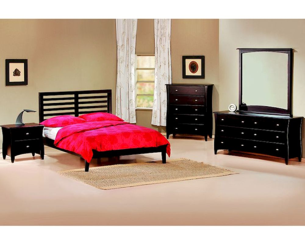 J m bedroom set metro jm sku17519set for M s bedroom furniture