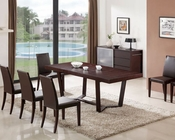 J&M Class Dining Set & Colibri Chairs JM-SKU178121SET