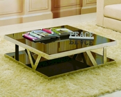 J&M Glass Coffee Table 929 JM-SKU175157