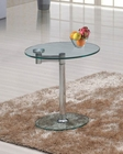 J&M Glass End Table 0856b JM-SKU17839