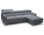 J&M Italian Leather Sectional 1281b JM-SKU1769011