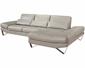 J&M Italian Leather Sectional 833 JM-SKU177862