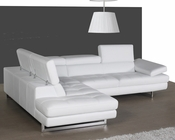 J&M Italian Leather Sectional A761 JM-SKU178551