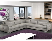 J&M Italian Leather Sectional Gary JM-SKU17859