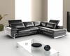 J&M Italian Leather Sectional Oregon II JM-SKU17787