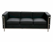 J&M Italian Leather Sofa Cour JM-SKU17655SOF