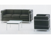J&M Italian Leather Sofa Set Cour JM-SKU17655SET