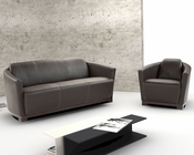 J&M Italian Leather Sofa Set Hotel JM-SKU17692SET
