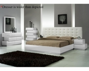 J&M Milan Bedroom Set in White JM-SKU17687SET