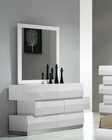 J&M Milan Dresser & Mirror in White JM-SKU17687DRM